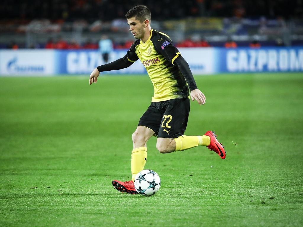 Fußball: BVB-Profi Pulisic jüngster