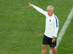 """Da oben, aufs """"Dach der Welt"""", soll es hingehen: Didier Deschamps gibt die Richtung vor"""