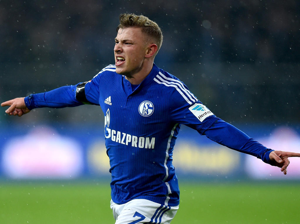 Max Meyer möchte mit Schalke 04 weiter hoch hinaus