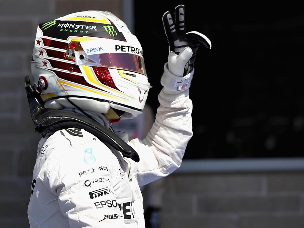 Hamilton steht am Sonntag zum ersten Mal auf der Pole in Austin
