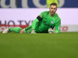 Ralf Fährmann war mit dem Auftritt seiner Mannschaft in Hamburg alles andere als zufrieden