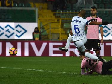 João Mario erzielte das goldene Tor für Inter in Palermo