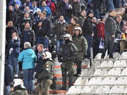 """Vor dem """"Hochrisikospiel"""" auf Schalke kam es zu einem Zwischenfall"""