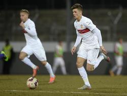Marvin Wanitzek wechselt vom VfB Stuttgart zum Karlsruher SC