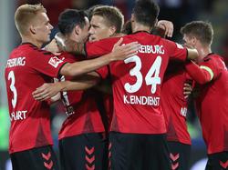 Der SC Freiburg will nach Europa