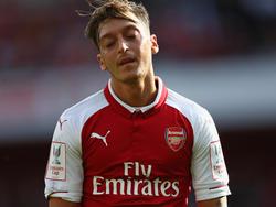 Mesut Özil erlebte gegen Stoke City einen schwachen Tag