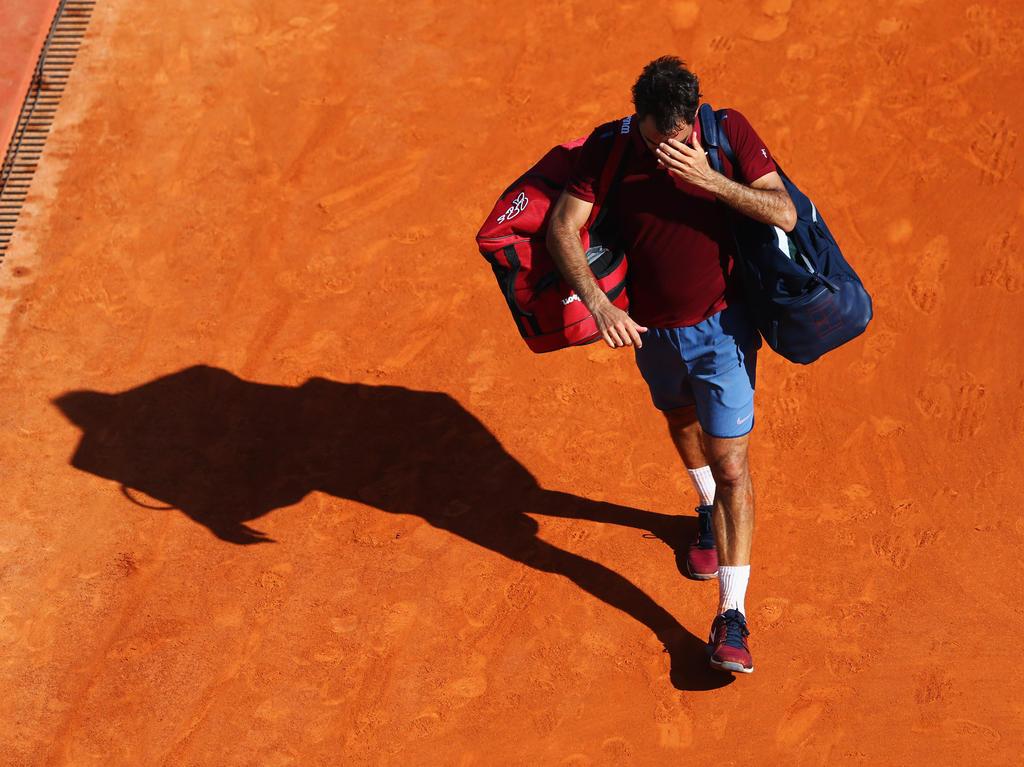Roger Federer verabschiedete sich gegen Tsonga aus dem Turnier