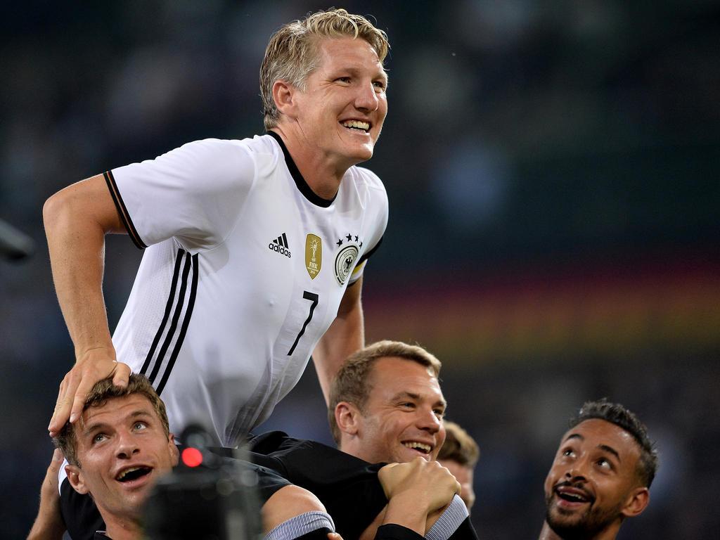 Bastian Schweinsteiger absolvierte sein letztes Länderspiel