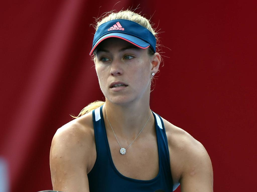Angelique Kerber steht bei den WTA-Finals vor dem Abschluss einer erfolgreichen Saison