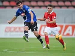 Dennis Franzin (r.) verlässt den FSV Mainz 05