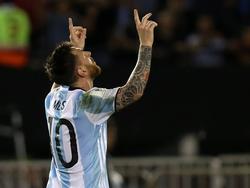 Leo celebrando un gol durante las Eliminatorias (Foto: Getty)