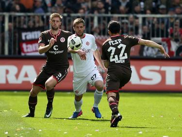 St. Pauli und Würzburg lieferten sich ein Duell auf niedrigem Niveau