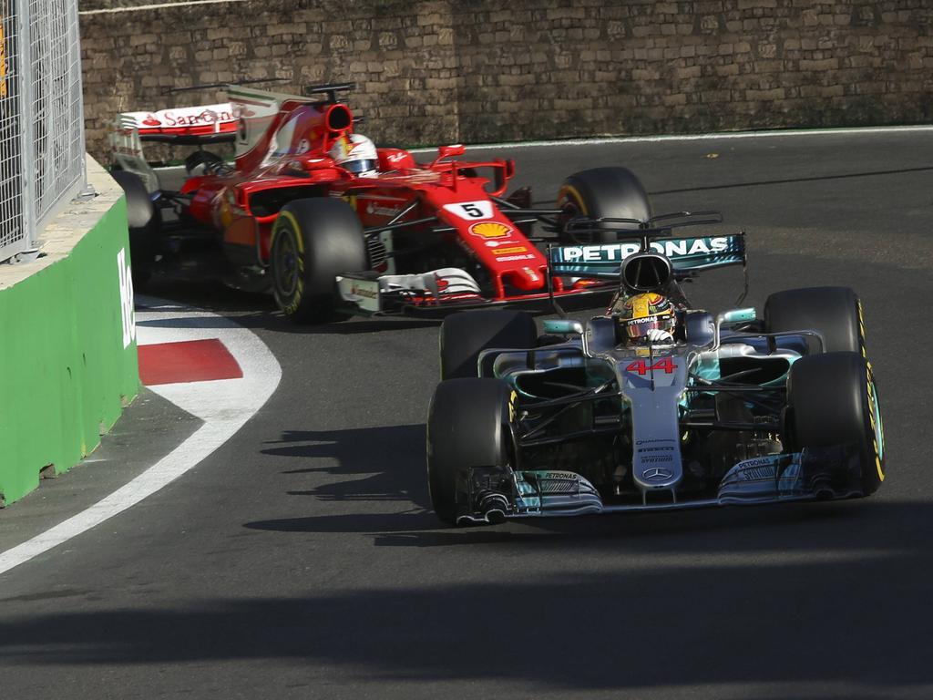 Die harmonischen Zeiten zwischen Lewis Hamilton und Sebastian Vettel sind vorbei