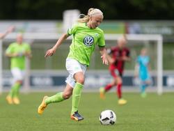 Pernille Harder erzielte der erste Tor für Wolfsburg