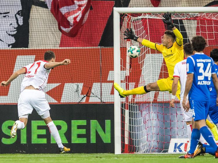 Fortuna Düsseldorf konnte die frühe Führung gegen Darmstadt über die Zeit retten