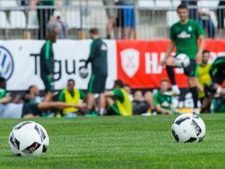 Werder Bremen hat Probleme auf dem eigenen Vereinsgelände
