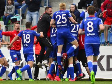 Slavia Prag ist tschechischer Meister