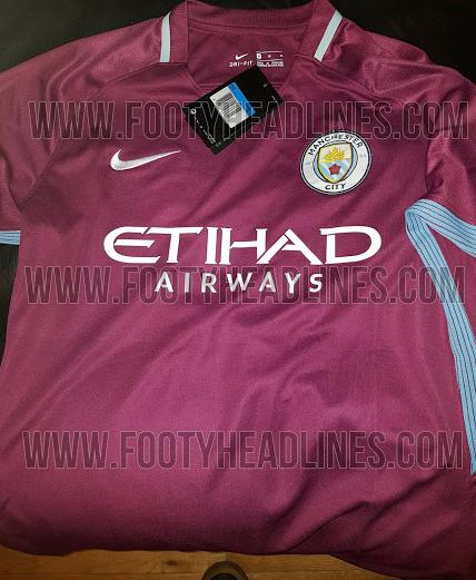 Manchester City (Auswärtstrikot)