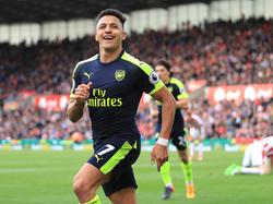 Alexis Sánchez geht seit 2014 für die Gunners auf Torejagd