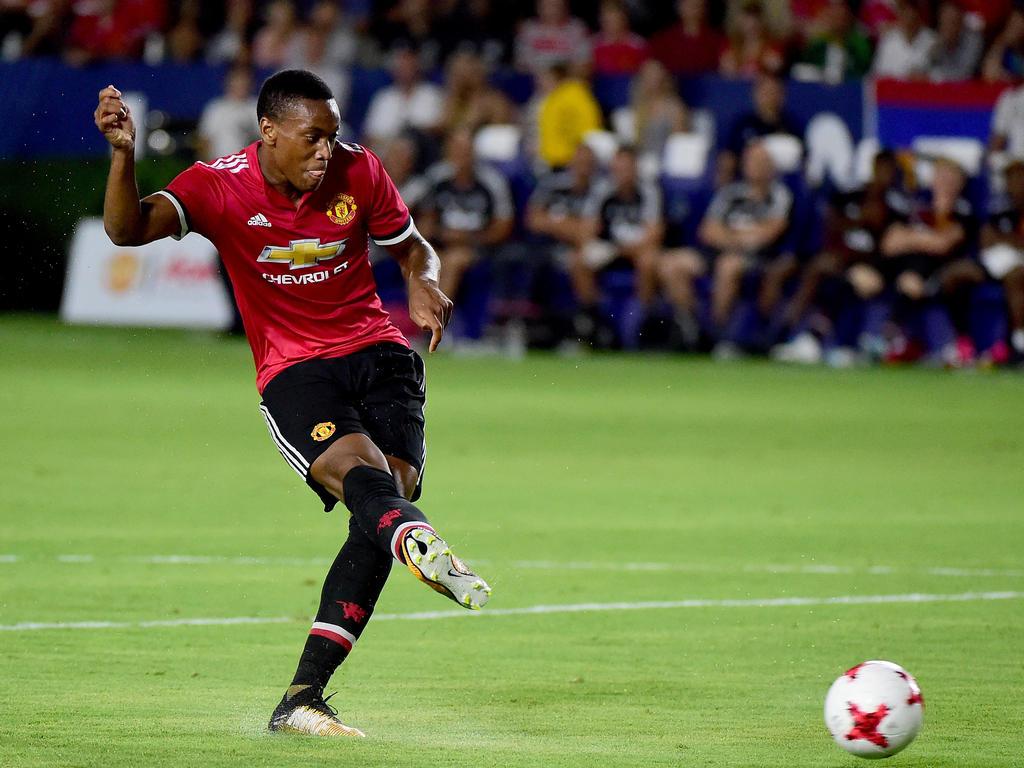 9. Platz Anthony Martial (Manchester United) - Gewinn: 55 Mio.