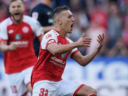 Pablo de Blasis erzielte den 500. Bundesligatreffer für Mainz