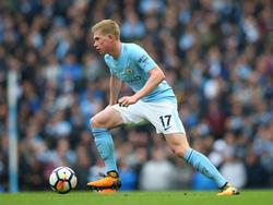 Kevin De Bruyne fühlt sich bei Manchester City und unter Pep Guardiola wohl