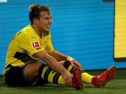 Mario Götze hat sich im Derby verletzt