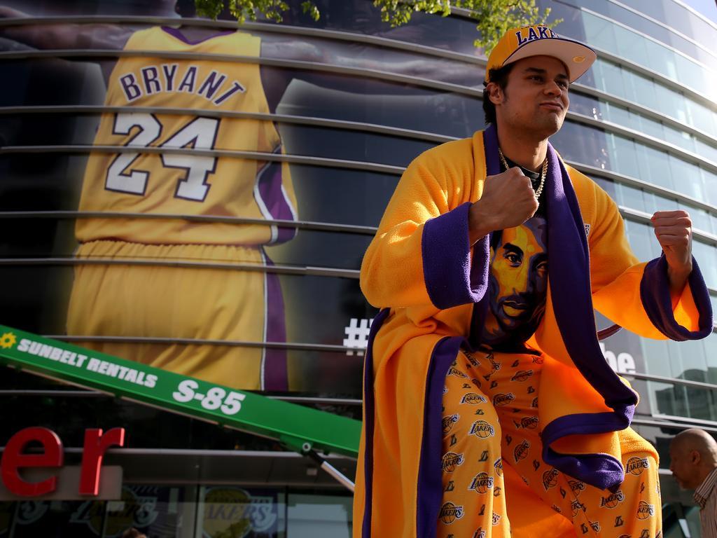 Kobe-Merch geht weg wie warme Semmeln