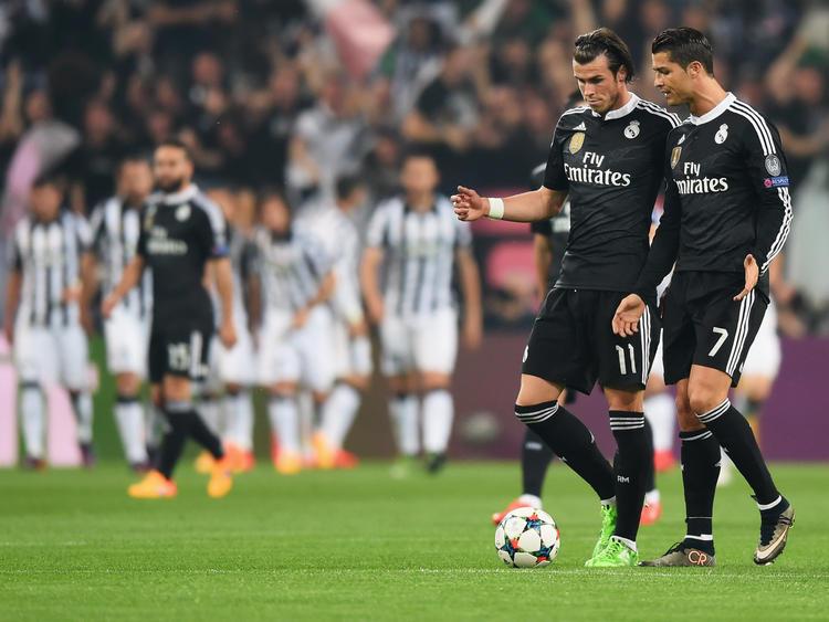 Real Madrid hatte gegen Juventus wenig Grund zur Freude