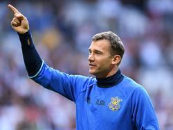 Andriy Shevchenko könnte die Ukraine übernehmen