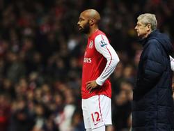 Da machten sie noch gemeinsame Sache: Henry und Wenger 2012