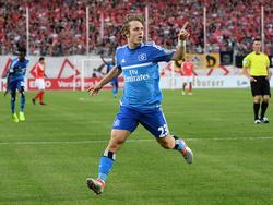Erstes Spiel, erstes Tor, erster Jubel: Neuzugang Alen Halilović