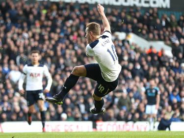 Tottenham Hotspurs Harry Kane war mit drei Treffern gegen West Bromwich Albion Mann des Tages