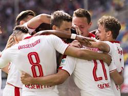 Fortuna Düsseldorf hat seinen Heimfluch besiegt