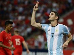 Lucas Alario stürmte in Argentinien für River Plate