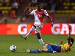 Thomas Lemar wird Monaco gegen RB Leipzig fehlen