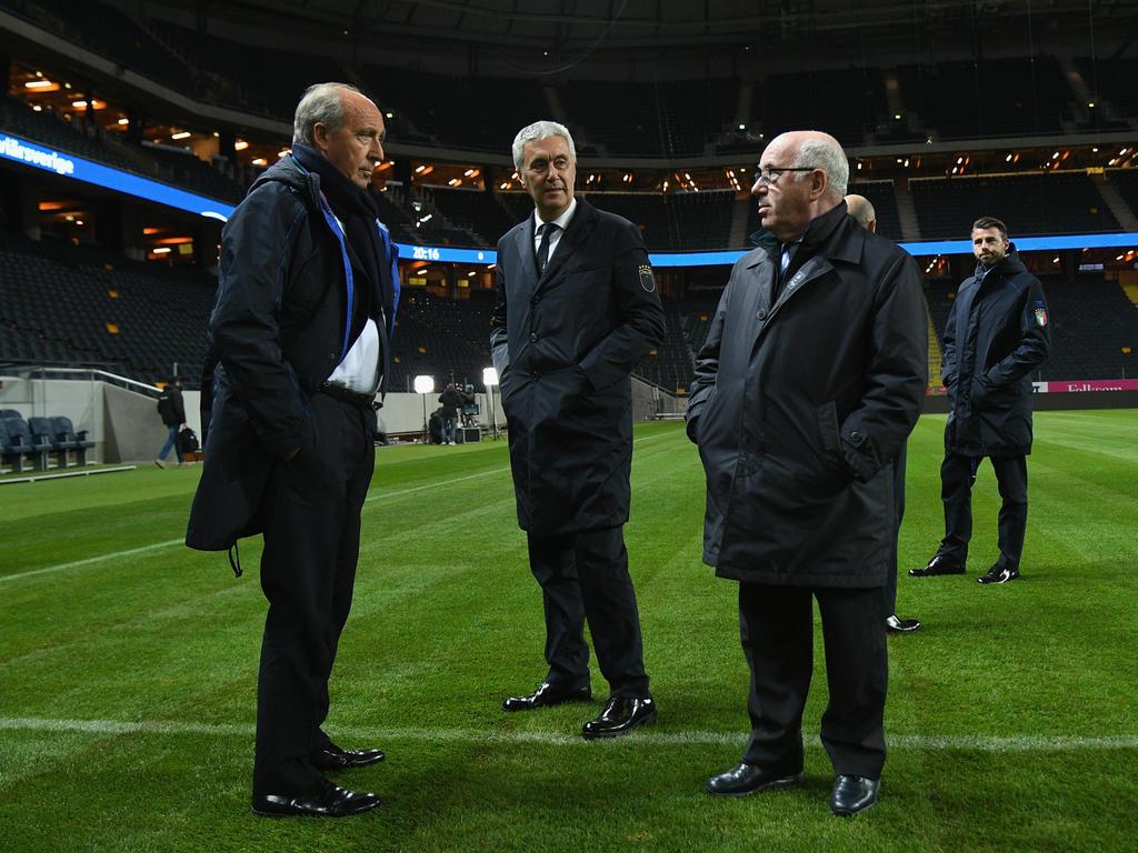 ItaliensFußballverband will am Mittwoch Entscheidungen fällen