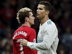 Cristiano y Griezmann siguen sin ver portería. (Foto: Getty)
