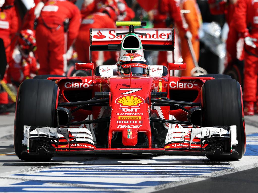 Kimi Räikkönen könnte sich vorstellen, als Mechaniker zu arbeiten