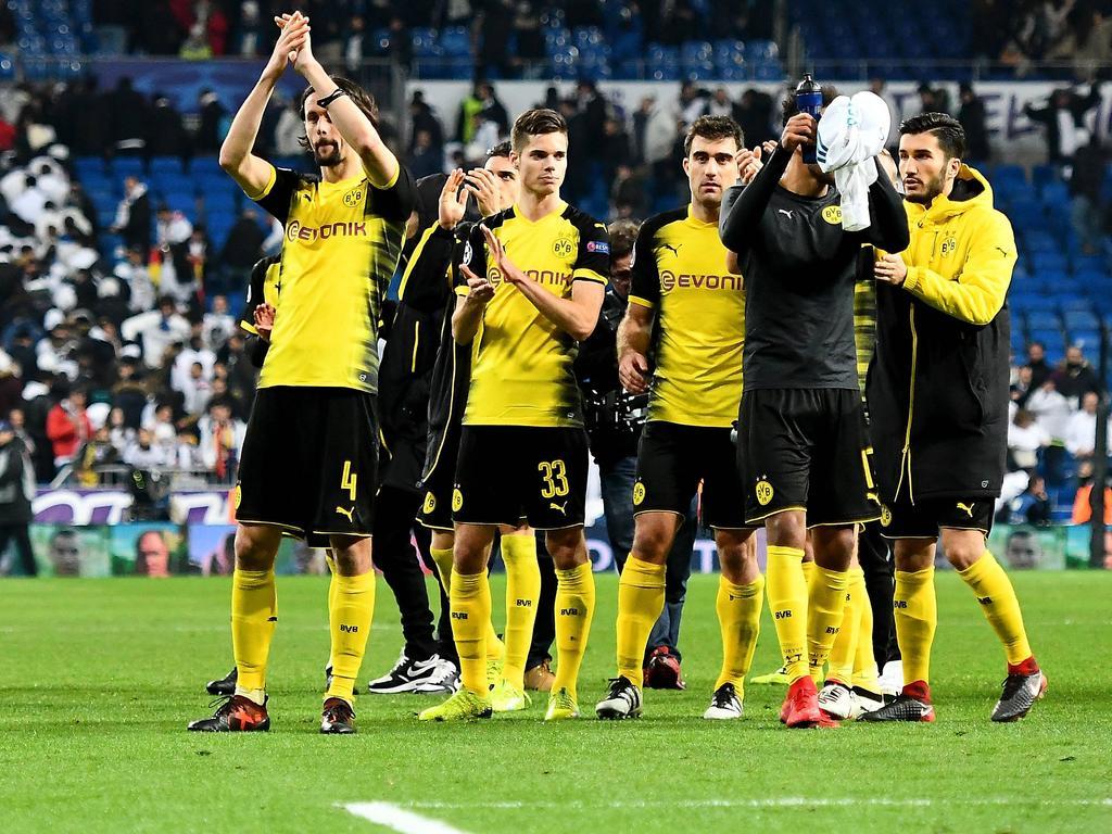 Die Dortmunder Akteure nach der Pleite in Madrid