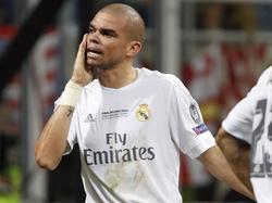 Pepe klagte im CL-Finale gleich mehrfach über schlimme Schmerzen