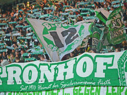 Fürth muss 12.000 Euro Strafe durch das Fehlverhalten der Fans zahlen