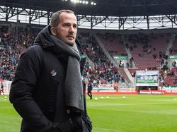 Auch gegen die Bayern mutig sein: Manuel Baum