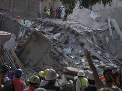 Edificio derruido a causa del terremoto en Ciudad de México. (Foto: Getty)