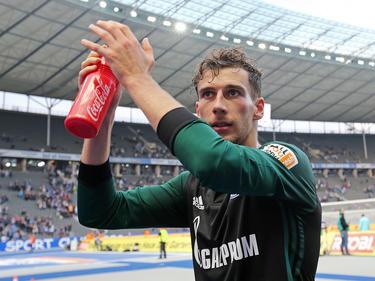 Der Schalker Leon Goretzka hofft auf einen Einsatz gegen den BVB