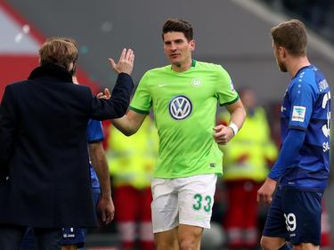 Mario Gomez erzielte für den VfL Wolfsburg das entscheidende Tor