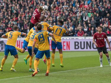 Niclas Füllkrug köpfte Hannover an die Tabellenspitze