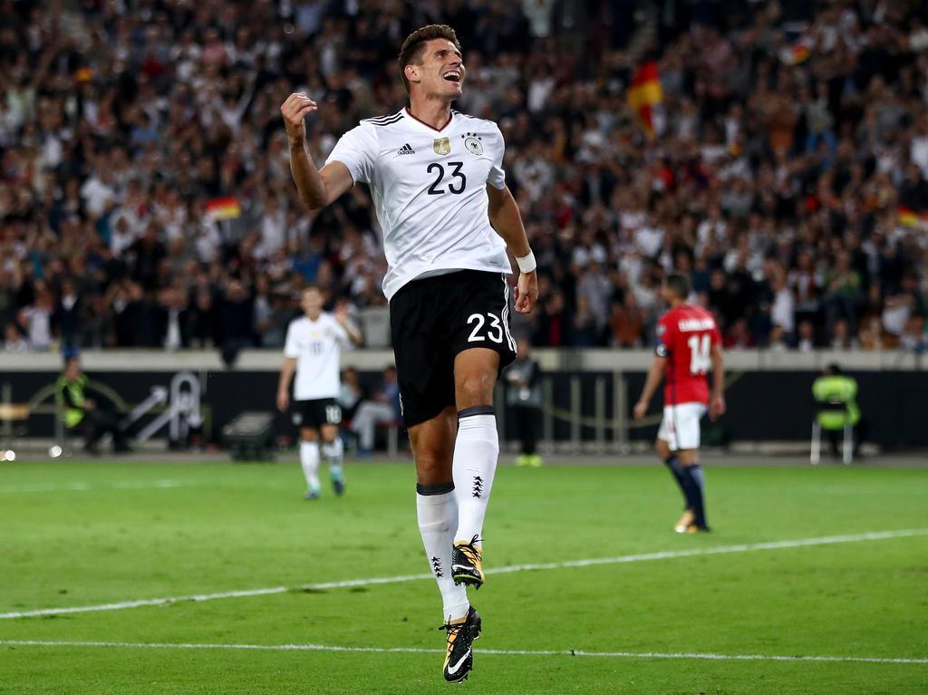 Mario Gomez hofft, Teil des deutschen WM-Kaders zu sein