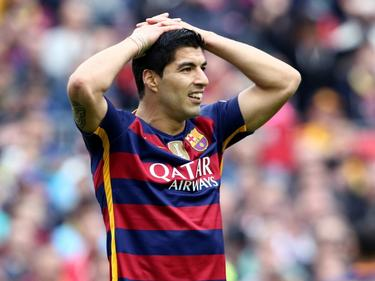 Luis Suárez podría perderse la Copa América. (Foto: ProShots)