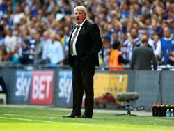 Steve Bruce steht bei der FA auf dem Wunschzettel